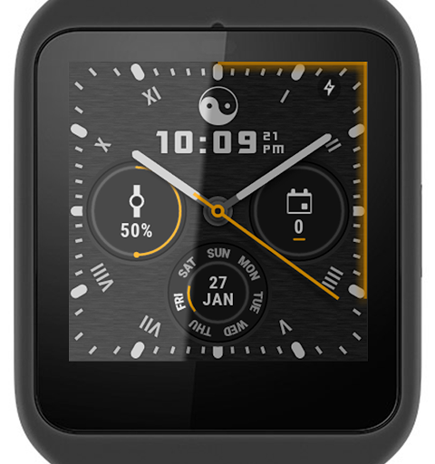 Screenshot Ksana Sweep Watch Face for Android Wear APK