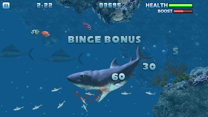 Screenshot Hungry Shark Free! APK