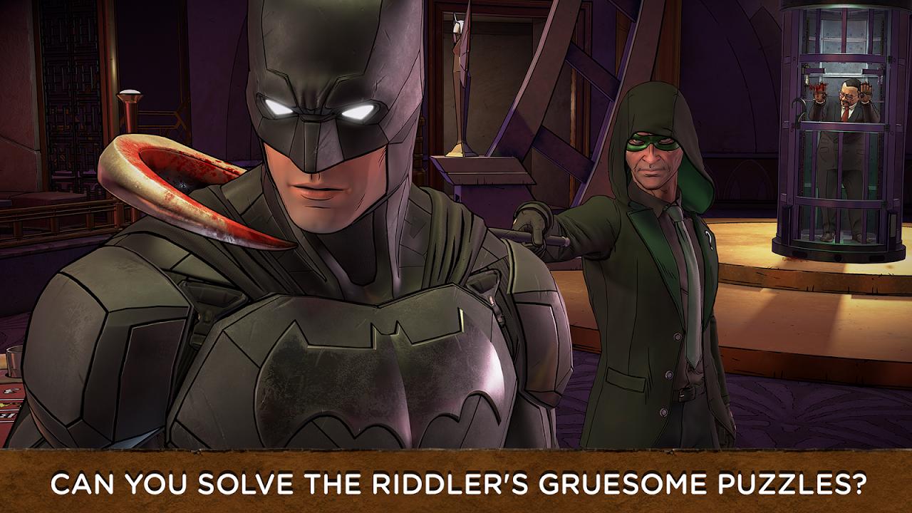 Screenshot Batman: The Enemy Within APK