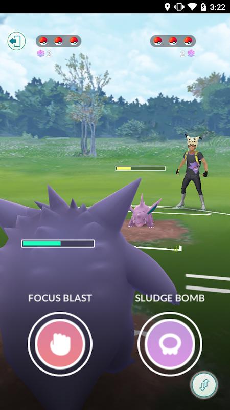 Screenshot Pokémon GO APK