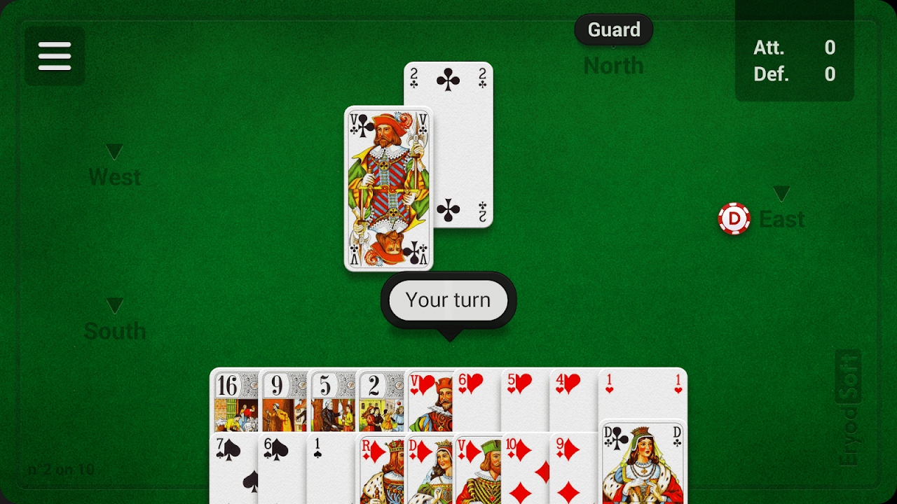 Screenshot French Tarot APK
