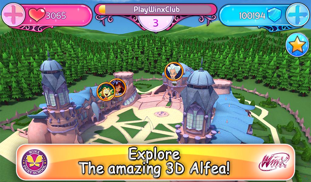 Winx Club: Winx Fairy School The App Store android Code Lads