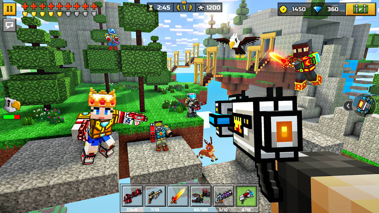 Pixel Gun 3D (Pocket Edition) The App Store android Code Lads