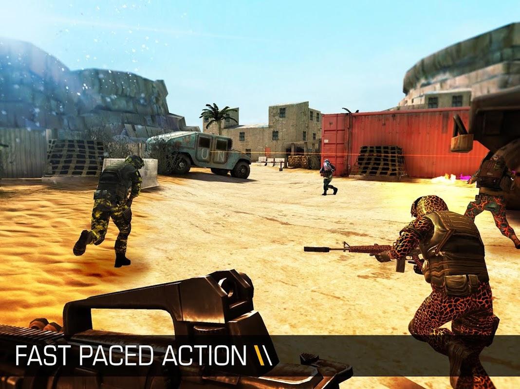 Screenshot Bullet Force APK
