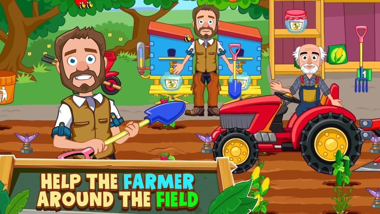 Screenshot My Town : Farm APK