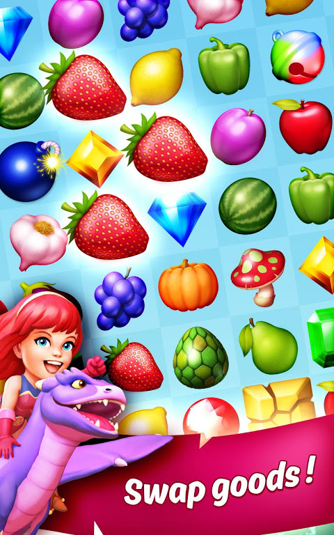 Screenshot KingCraft - Sweet Garden APK