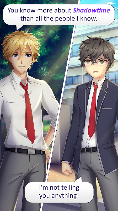 Screenshot Anime Love Story Games: ✨Shadowtime✨ APK