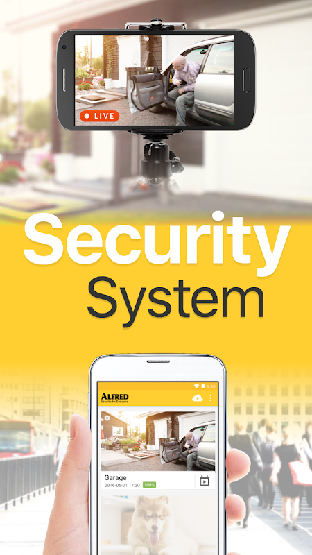 Screenshot DIY CCTV Home Security Camera - Alfred APK