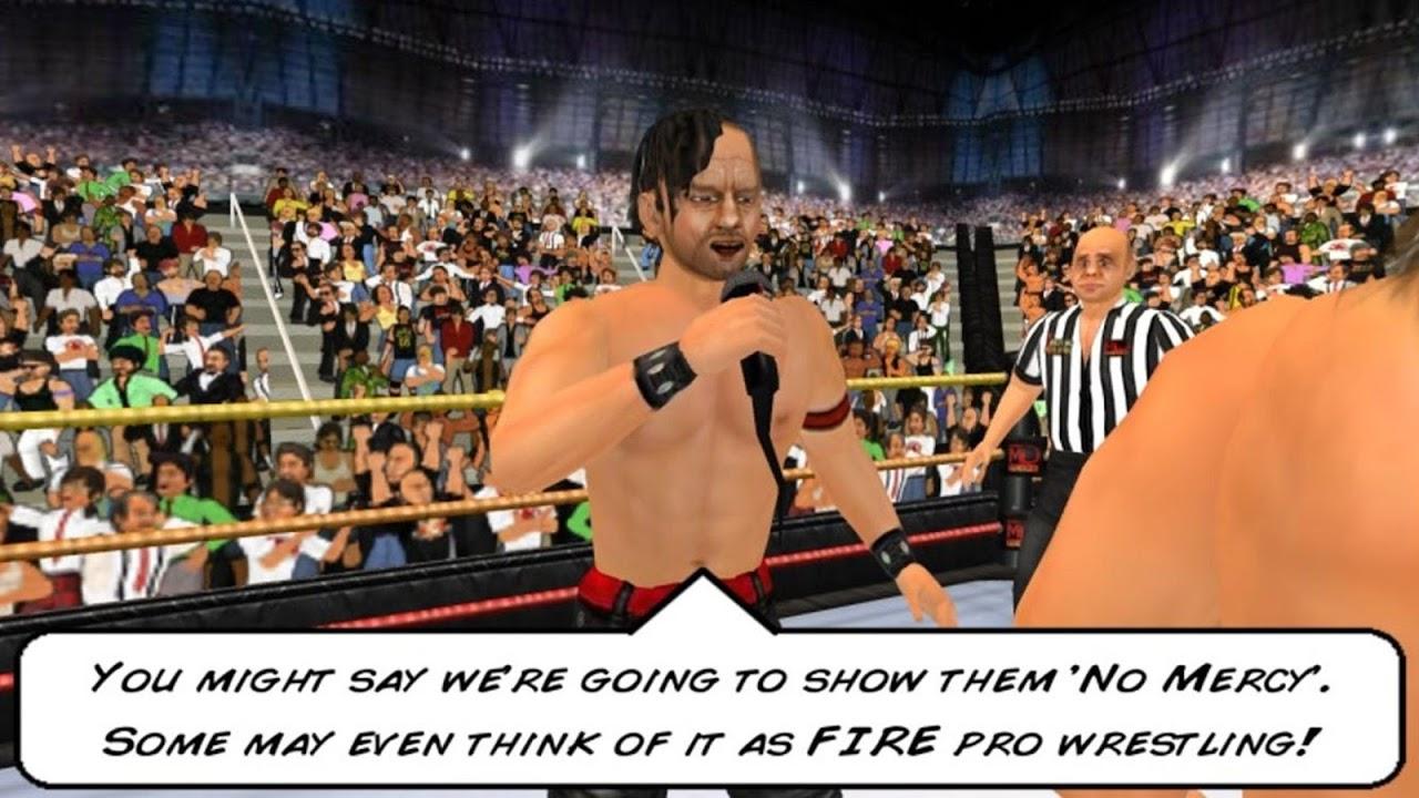 Screenshot Wrestling Revolution 3D APK