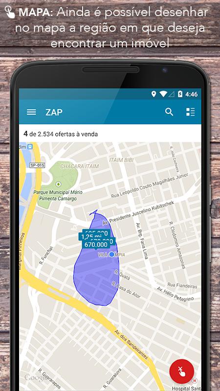 Screenshot ZAP Imóveis APK
