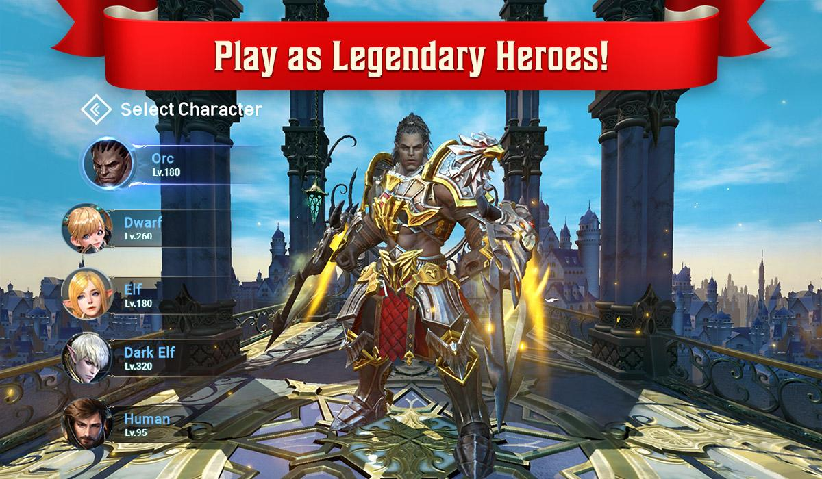 Lineage 2: Revolution The App Store android Code Lads