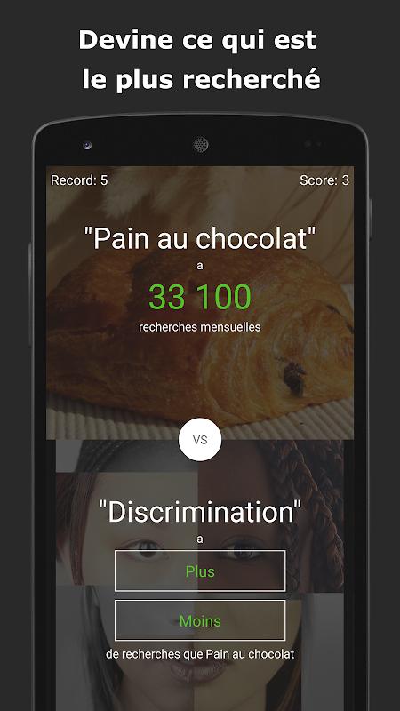 Screenshot Le jeu du Plus ou Moins APK