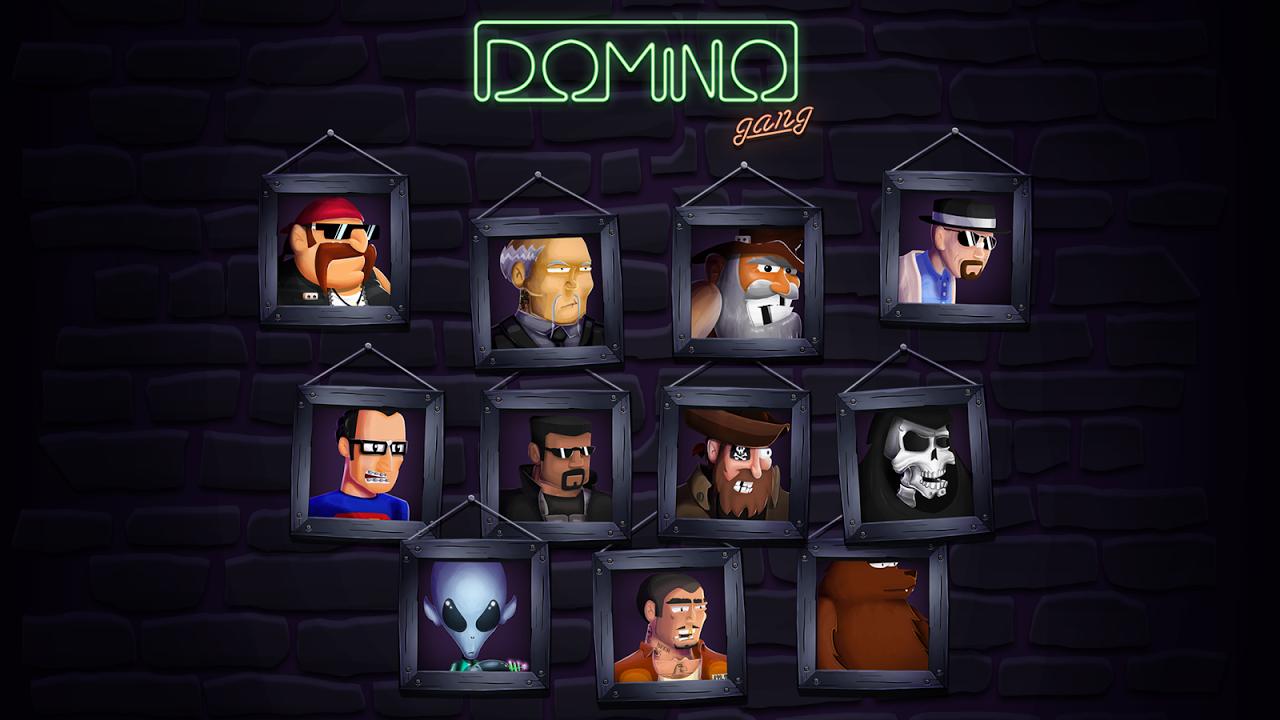 Screenshot Domino Gang APK