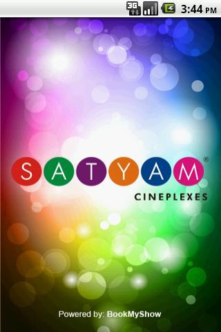 Satyam Cineplexes The App Store