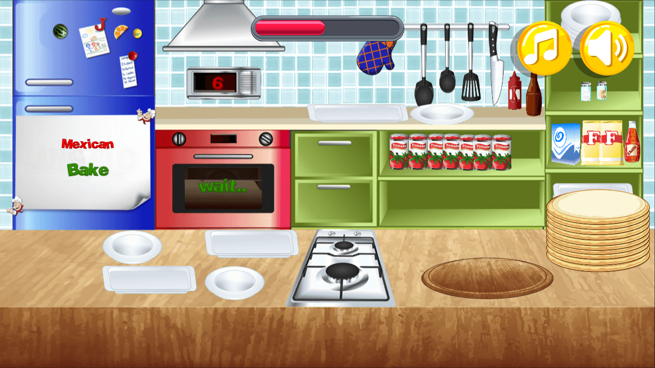 Cooking games: Angelo's Pizza The App Store