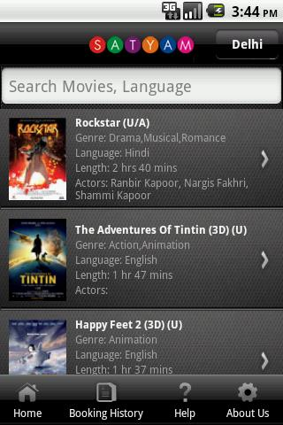 Satyam Cineplexes The App Store android Code Lads