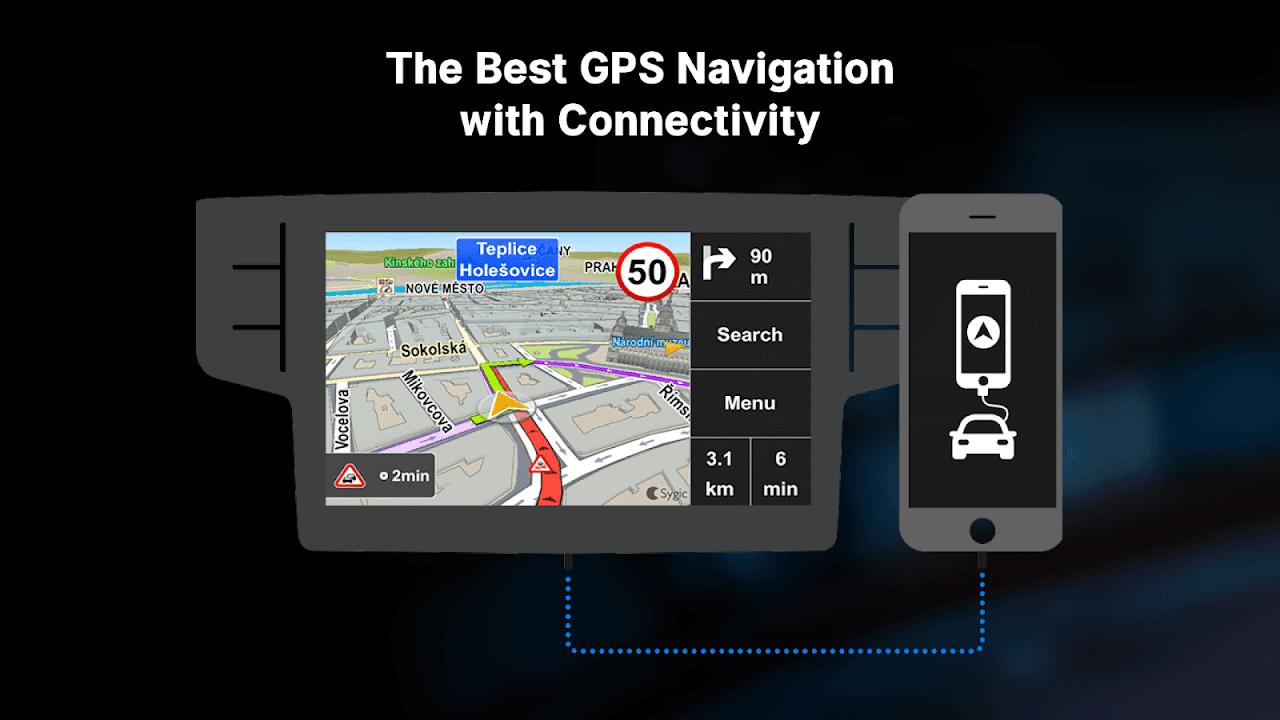 Screenshot Sygic Car Navigation APK