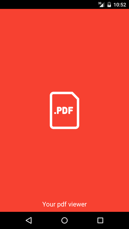 Screenshot PDF Viewer-Reader For Android APK