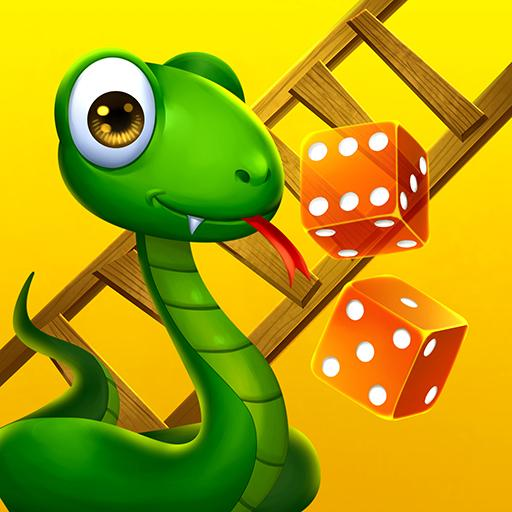 🐍 Snakes and Ladders Saga - Free Board Games 🎲