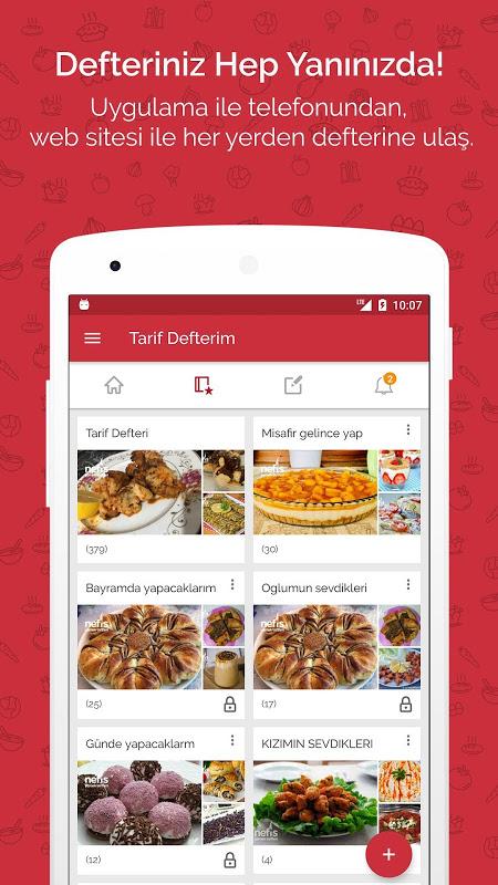 Nefis Yemek Tarifleri The App Store android Code Lads