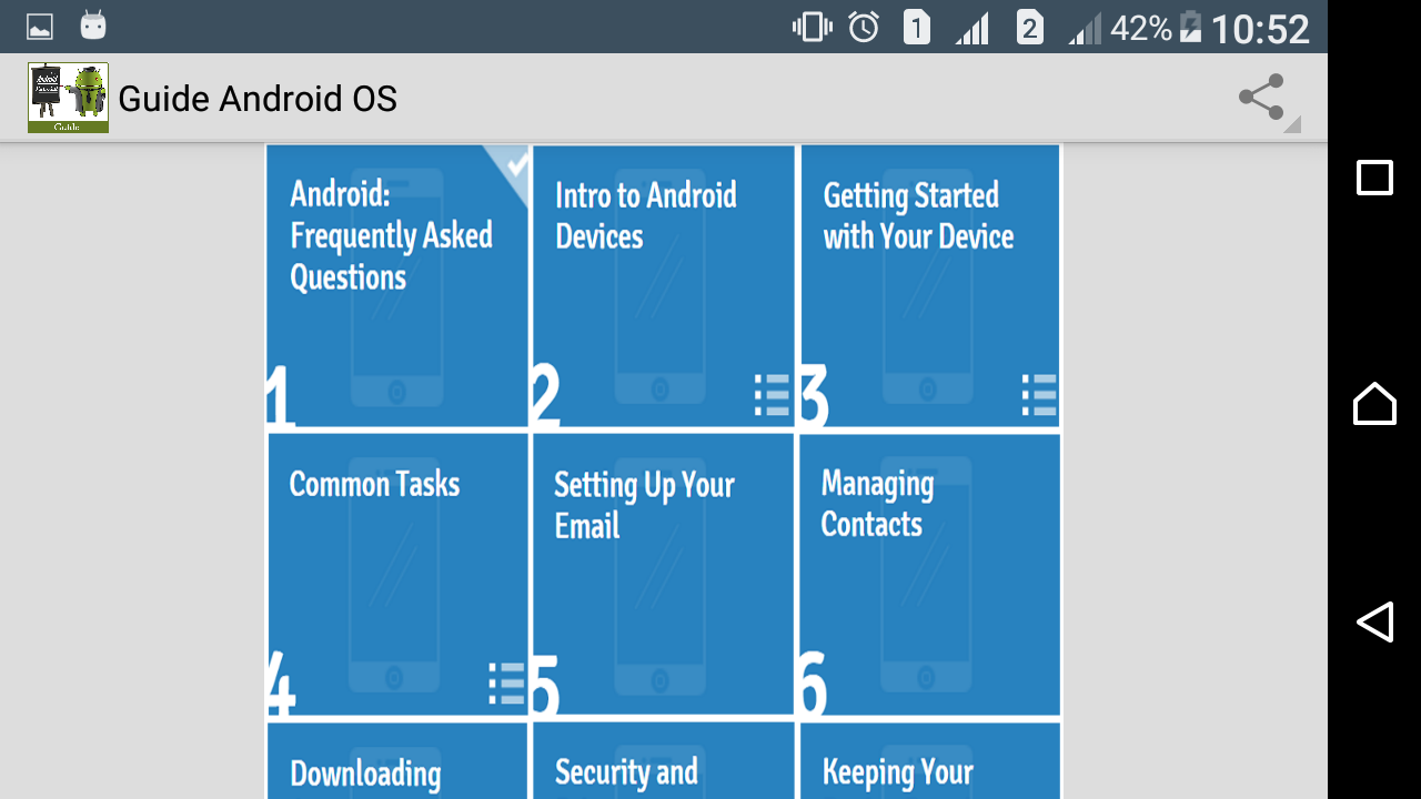 Screenshot Guide to Android OS APK