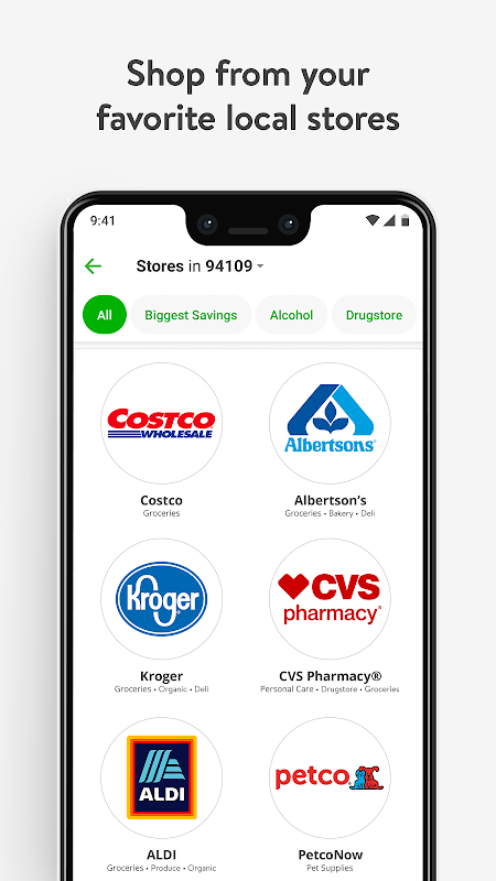 Instacart: Grocery Delivery The App Store android Code Lads