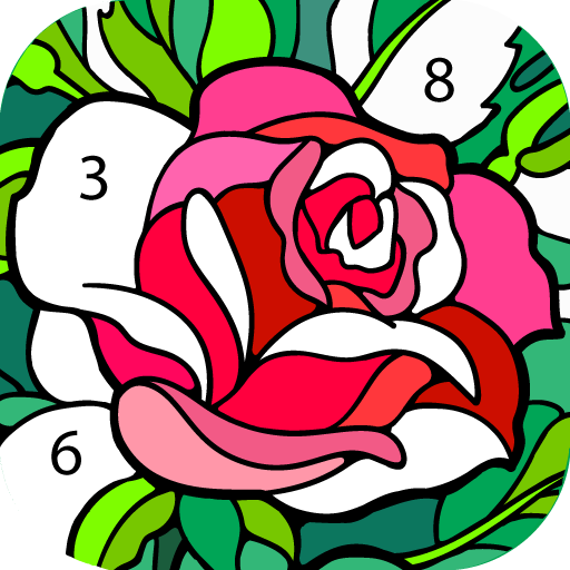 Happy Colour – Colour by Numbers