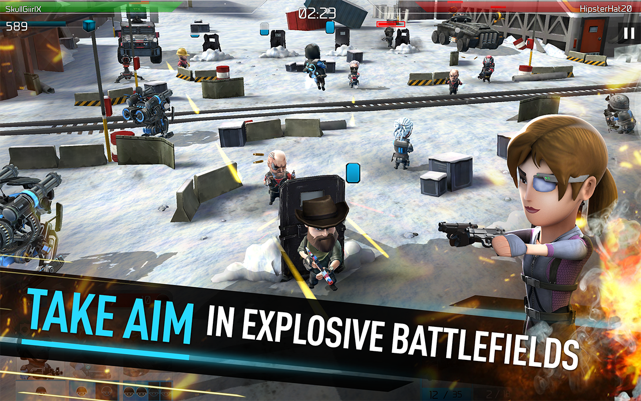 Screenshot WarFriends: PvP Shooter Game APK
