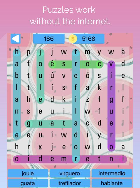 buscando palabras - word search / sopa de letras
