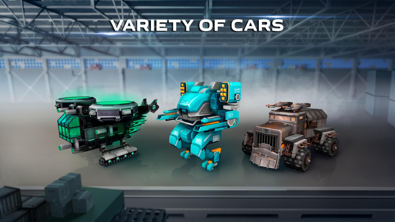 Blocky Cars - Online Shooting Games