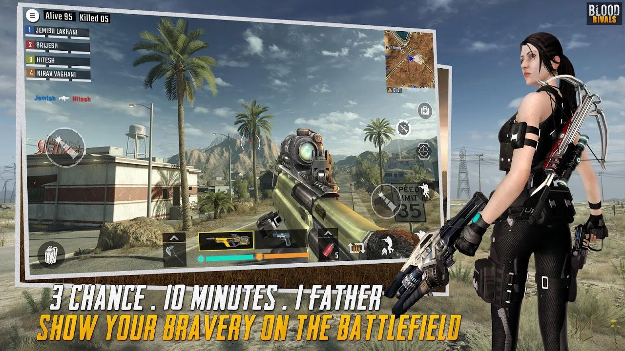 Blood Rivals - Survival Battleground FPS Shooter