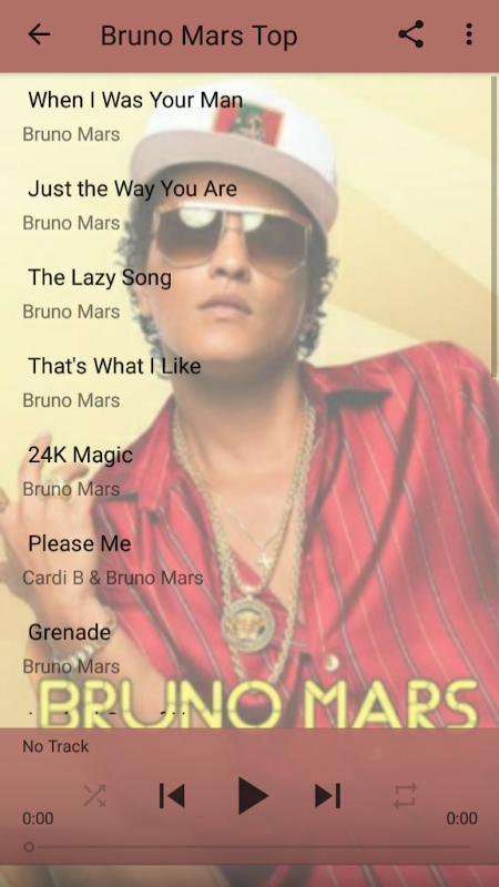 Bruno Mars Best Album Songs - all music