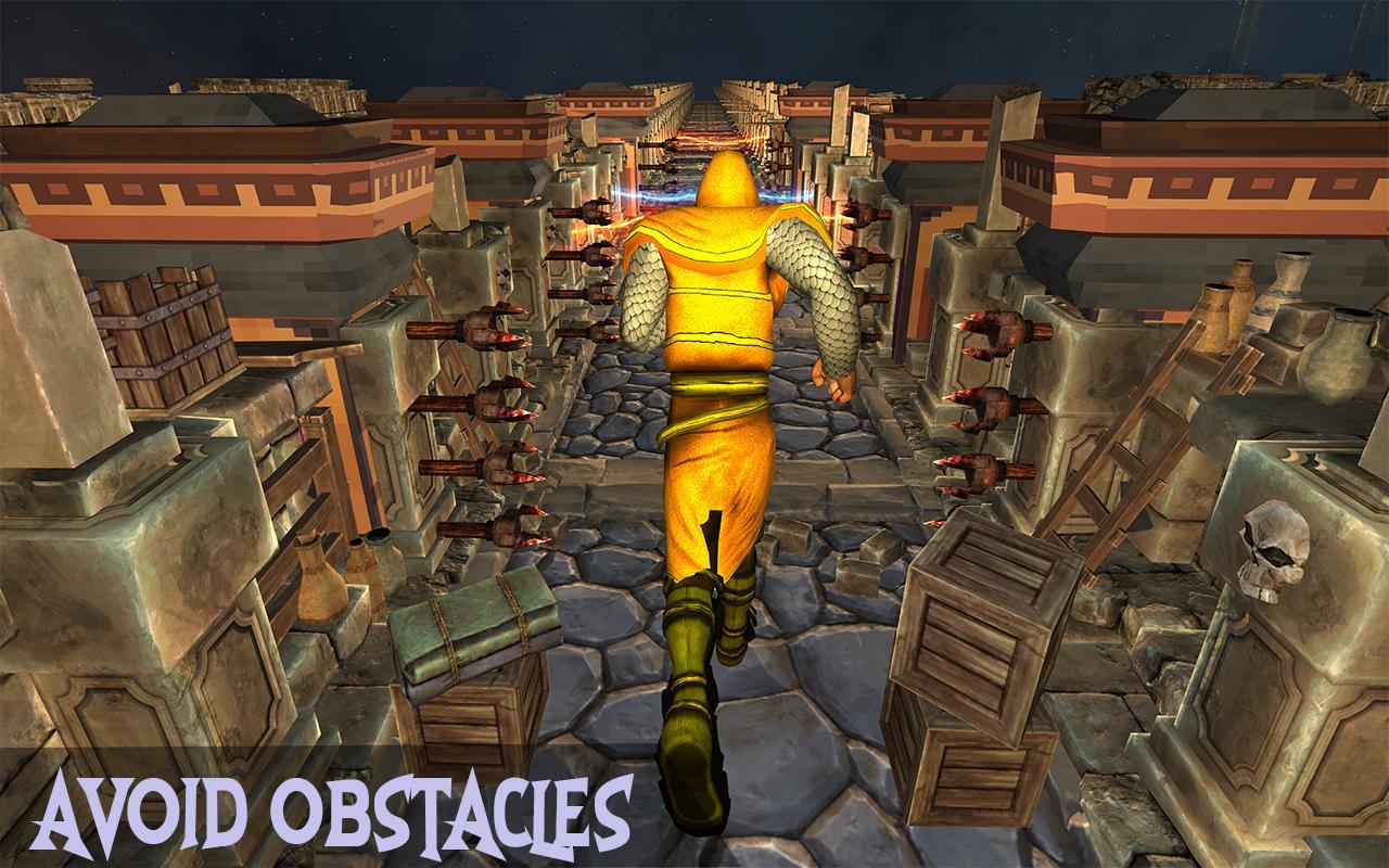 Temple Adventure Survival Run - Treasure hunt