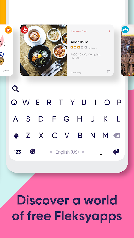Fleksy: Fast Keyboard with Stickers & GIFs
