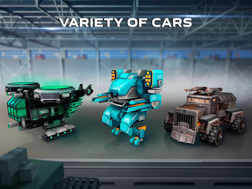Blocky Cars: tank online.Pixel games & pixel tanks