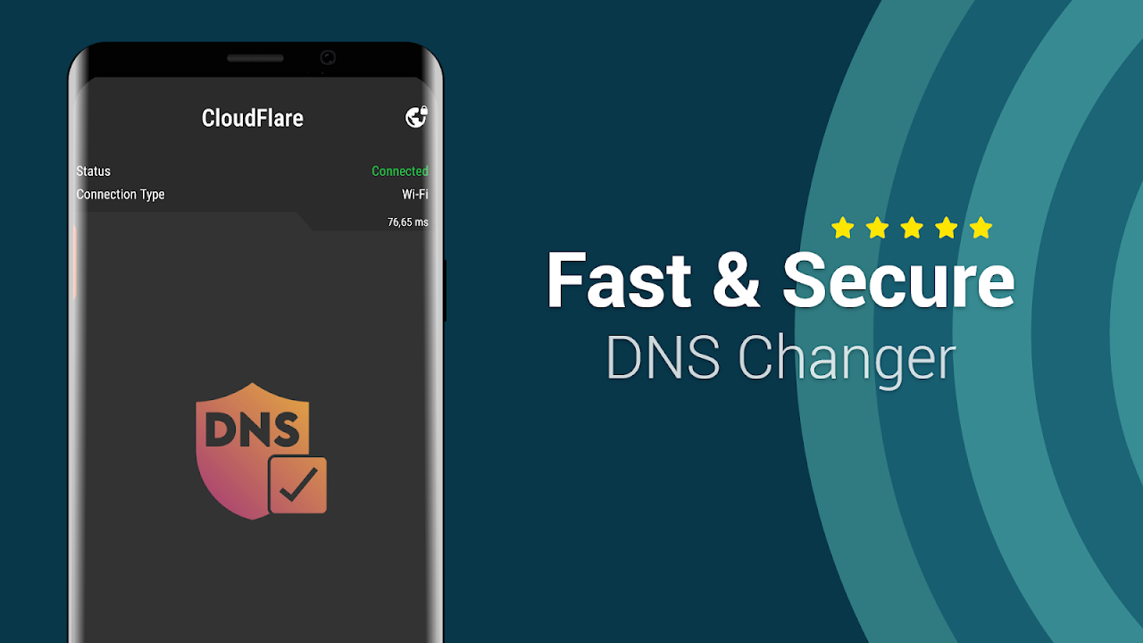 Easy Auto DNS Changer: ipv6 DNS Connection Manager