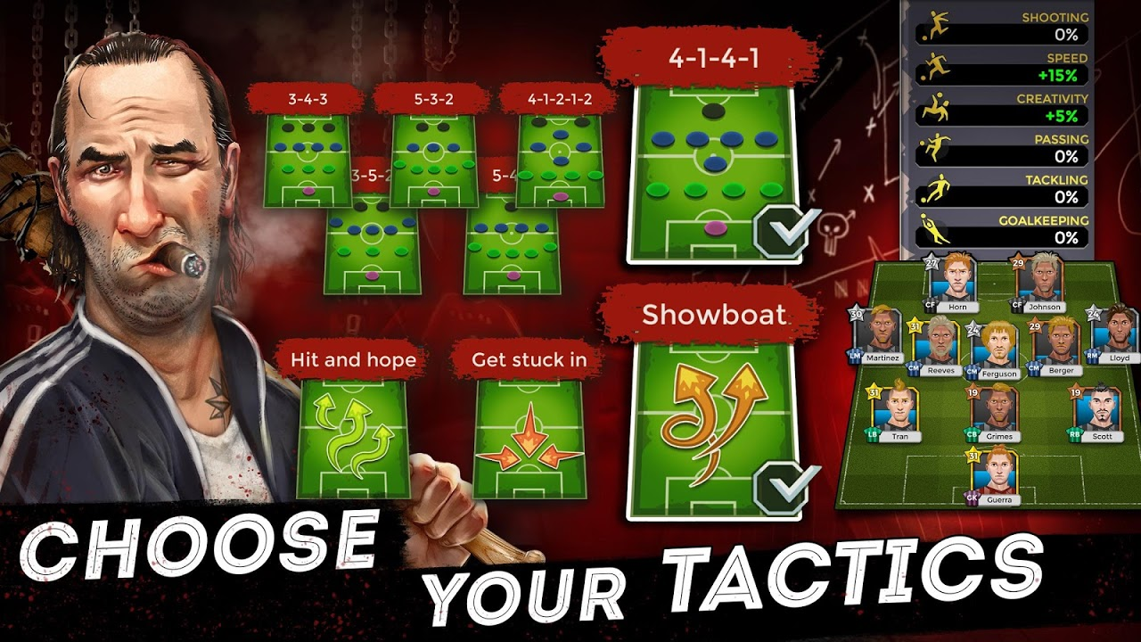 Underworld Football Manager - Bribe, Attack, Steal