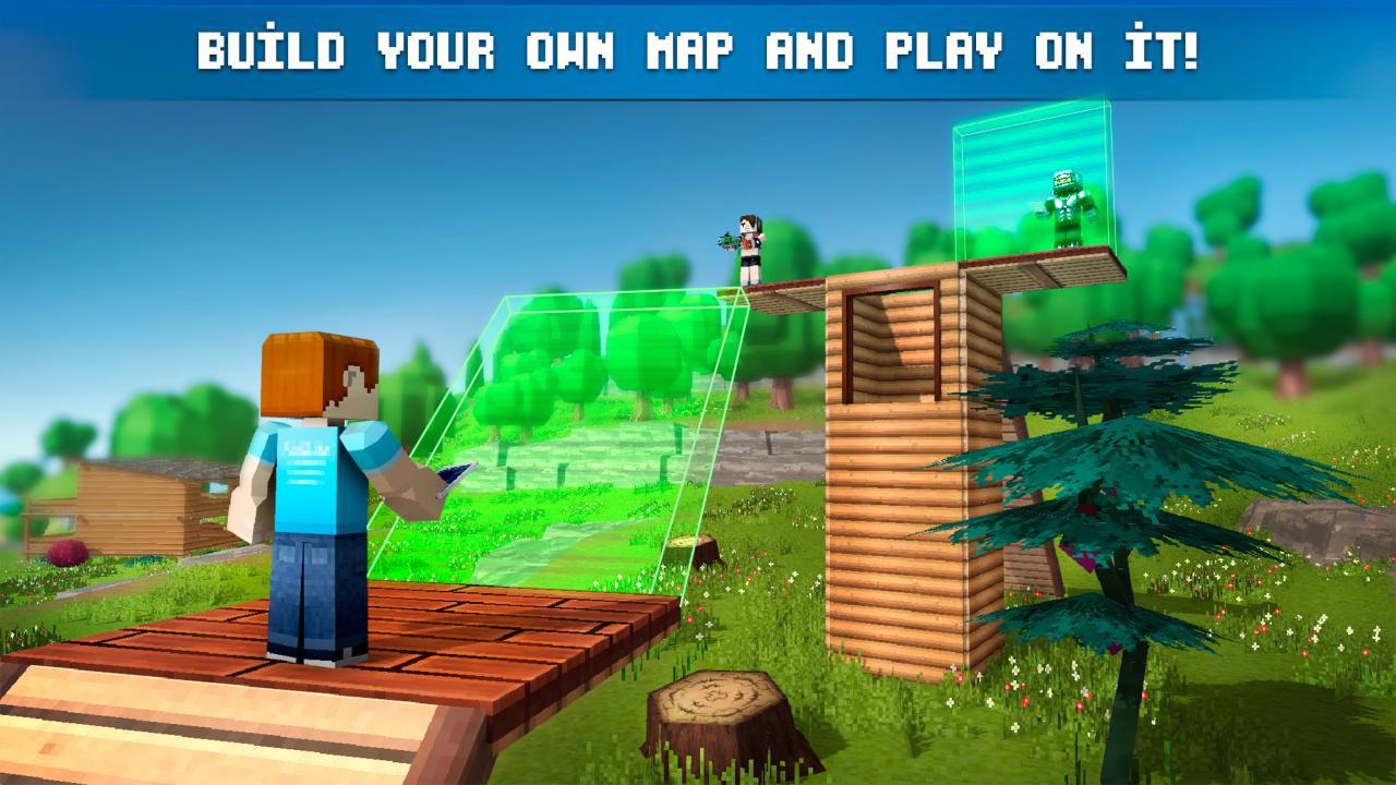 Mad GunZ - Battle Royale, online, shooting games