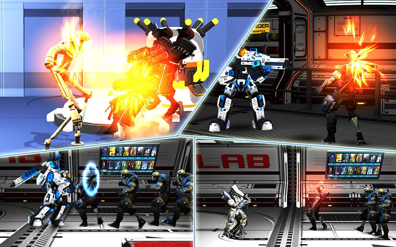 Robot Rivals Legend: The Fighting Game
