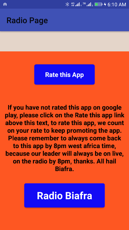 Radio Biafra 24/7 Plus 4 Other Radio in Biafra