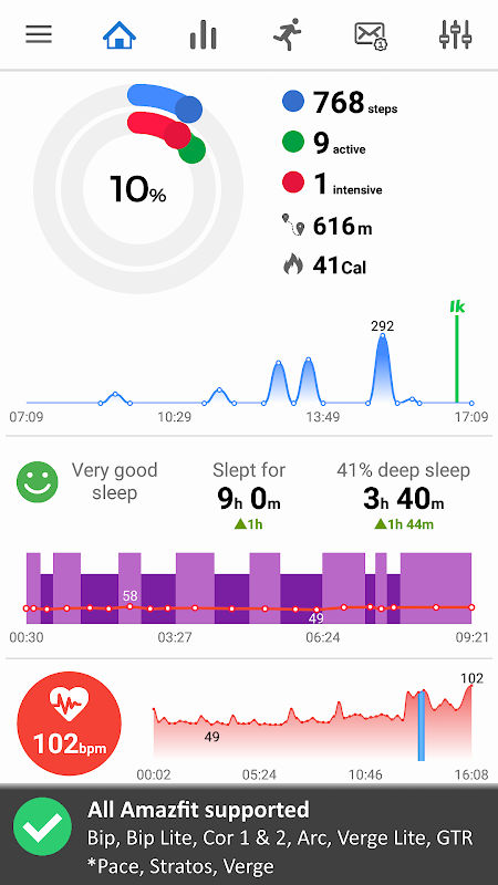 Notify & Fitness for Amazfit