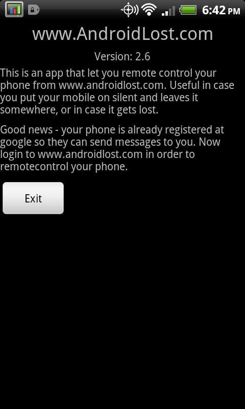Screenshot Lost Android APK