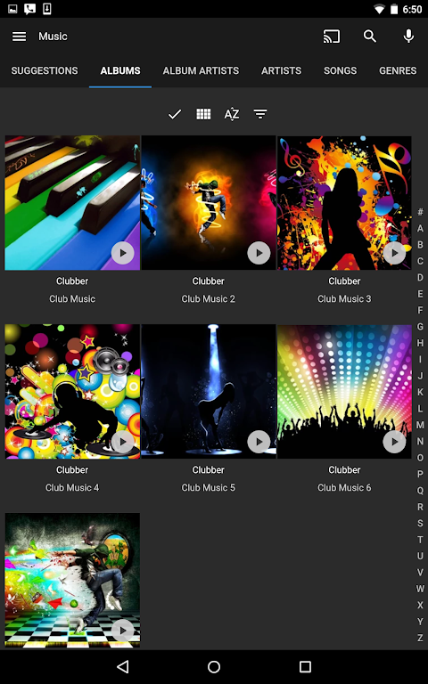 Screenshot Emby for Android APK