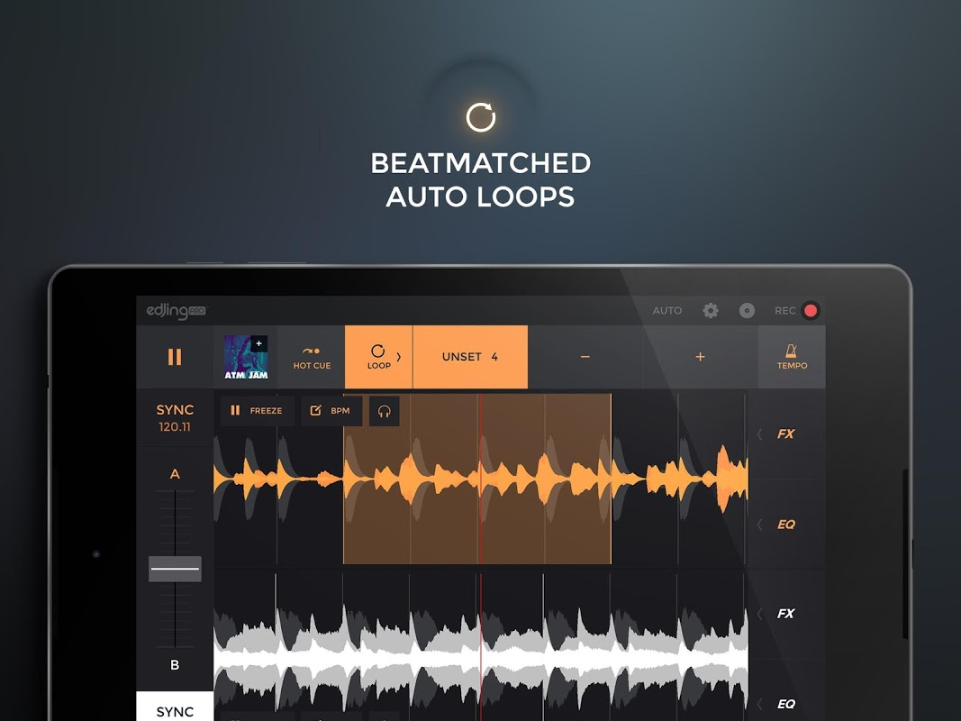 edjing PRO LE - Music DJ mixer The App Store android Code Lads
