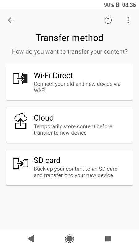 Xperia Transfer Mobile The App Store android Code Lads