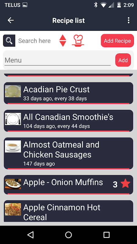 Food Planner The App Store android Code Lads