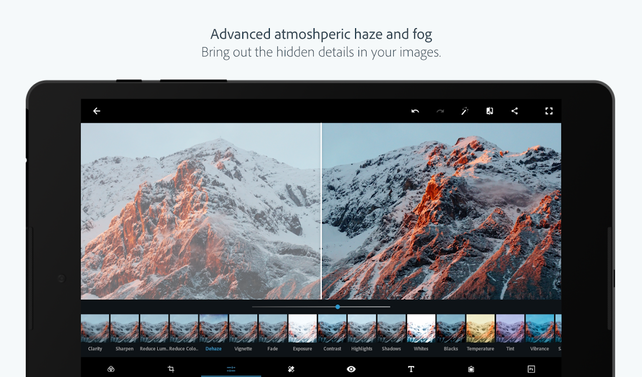 Screenshot Adobe Photoshop Express:Photo Editor Collage Maker APK