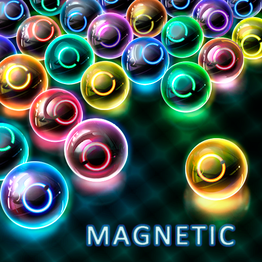 Magnetic balls: Neon
