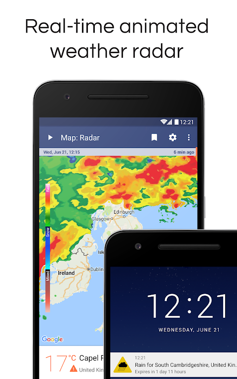 Screenshot Weather Radar & Alerts APK