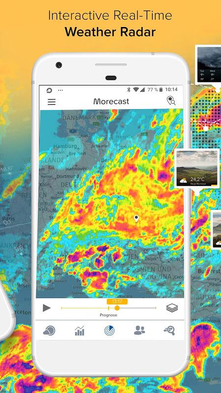 Screenshot Morecast - Your Personal Weather Companion APK